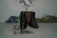 "Beautiful leather shoes for Jumeau Bru Steiner  doll 2 - 1/4"" (58 mm)"