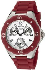 Invicta Women's 0701 White Rubber Quartz Watch