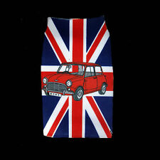 Austin Mini design red Union Jack mobile phone sock, pouch cover universal