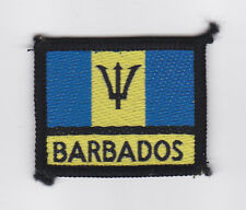SCOUTS OF WEST INDIES BARBADOS - SCOUT NATIONAL FLAG Patch