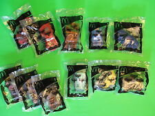 2006 McDonalds - Pixar's CARS - COMPLETE set of 11 *MIP* (8 + 3 variations)