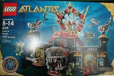 NEW! Lego ATLANTIS 8078 PORTAL ATLANTIS 1,007 pcs Shark Gold Emperor Trans blue
