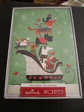 HALLMARK Dachshund & Fun Variety Dogs Holiday Christmas Cards - - Set of 16 NIB
