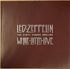 LED ZEPPELIN Whole Lotta Love RARE 45 PROMO The Dirty Funker Remixes