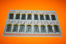 8 Batteries Li-Polymer 3,7 v 450 mAh SOUTHTOP hélicoptère mp3 telephone radio...