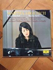 MARTHA ARGERICH PROKOFIEFF PIANO CONCERTO 3 RAVEL PIANO CONCERTO ABBADO DGG LP