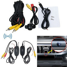 2.4Ghz Wireless Rear View Video Transmitter & Receiver CCD Car Backup Camera US