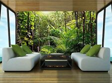 Background Jungle  Wall Mural Photo Wallpaper GIANT WALL DECOR Paper Poster