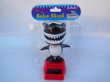 New Solar Powered Flip Flap Dancing SHARK Dancing Bobble Head Solar Shark Toy