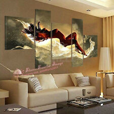 5pc Hand-painted Oil Paintings Modern Abstract Nude Dancing Canvas Wall Art 1700