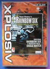 Tom Clancy's Rainbow Six Pack Oro Edición Inc Eagle Reloj Nuevo Y Sellado Uk