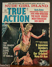 True Action March 1965 Operation Mad Duck Free Love City Girl Island
