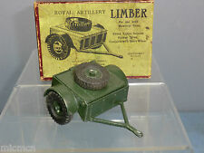 "VINTAGE BRITAINS  MODEL No.1726 ""HOWITZER"" TIMBER TIMBER   VN MIB"