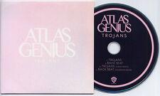 ATLAS GENIUS Trojans 2013 UK 4-track promo CD