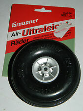 GRAUPNER PNEU Air Ultra-LIGHT wheels Leichtrad 100 x 38 mm roue RC tire TYRES