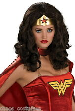 Sexy Wonder Woman Hair Cosplay Heat Resistant Party Costume Wig