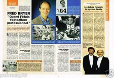 Coupure de presse Clipping 1993 (1 page 1/2) Fred Dryer Rick Hunter