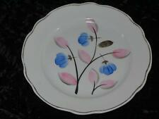 VINTAGE SOVIET DULEVO DULYOVO Replacement China Starter Plate Pink & Blue 1968