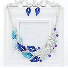Fashion Women Jewelry Sets Earrings And Necklace Alloy Chain Stud Earrings