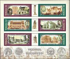 Rumänien Block397 (kompl.Ausg.) postfrisch 2007 Das alte Bukarest
