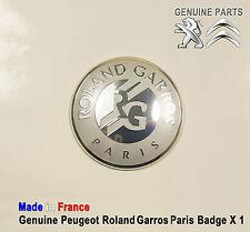 Peugeot 508 607 807 Boxer Partner RCZ Roland Garros Paris Badge emblem Logo New
