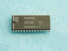 ci TDA 4650 - ic TDA4650 - DIP28 - Multistandard colour decoder... (pla030)