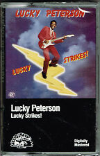 Lucky Strikes! by Lucky Peterson (Cassette) BRAND NEW FACTORY SEALED