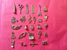 Tibetan Silver 50 Shades of Grey Themed Mixed Charms 26 per pack