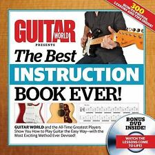 Guitar World The Best Instruction Book Ever!, , Guitar World, Excellent, 2012-10
