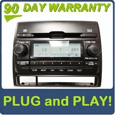 2012 TOYOTA Tacoma OEM Radio Aux Satellite AM FM Single MP3 WMA CD Player D1822