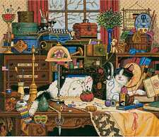 Gold Collection Maggie The Messmaker Counted Cross Stitch Ki-14 In 088677038847