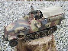 Halbkette SDKFZ 251 RC Modell 1:10 Wehrmacht WK2 WWII Einzelstück