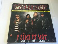 """WOLFSBANE UK 1990 12"""" Single I LIKE IT HOT LIVE EX-"""