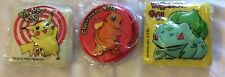 pokemon go vintage 1999 cake topper pikachu charmander bulbasaur 36 count