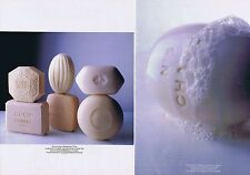 Publicité Advertising 016 1989 Chanel le savon  (2 pages)