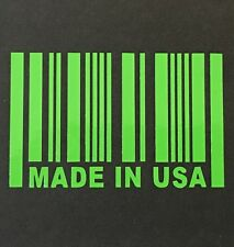 MADE IN USA DECAL STICKER 14 COLORS FORD DODGE CHEVY GMC PONTIAC CAR TRUCK SUV