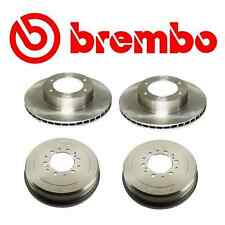 Brembo 2-Front Rotors & 2-Rear Drums Toyota 4Runner