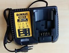 DEWALT DCB115 BATTERY CHARGER 10.8V/14.4V/18V, NO BOX PACKAGING, EUROPE VERSION