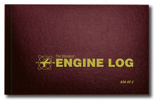 NEW ASA Engine Log - Hard Cover | ASA-SE-2 | Aircraft Logbook