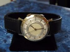 Vintage LeCoultre Memovox 10K Gold Filled Alarm Wristwatch – Works Great!