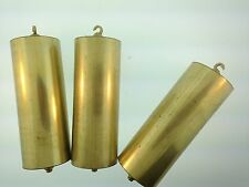Vienna Clock Brass Weight Shells Set of 3
