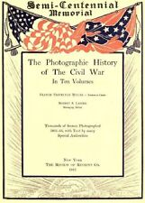 PHOTOGRAPHIC HISTORY OF THE CIVIL WAR PDF ON CD DISK