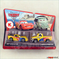 Disney Pixar Cars 2 Jeff Gorvette John Lassetire K-mart Error Variation