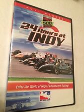 Indy 500 Series 24 Hours at Indy (DVD, 2005) Full Scream