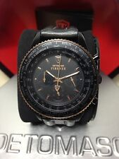 Detomaso Firenze Crono Mm 42 W.r. 10 ATM  Watch Nuovo Box Regalo Scontatissimo