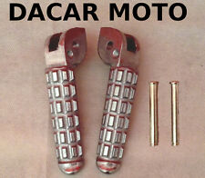 PEDALINE POGGIAPIEDI FOOTPEGS ANTERIORI DUCATI MONSTER 900 DARK CITY 1999 1104