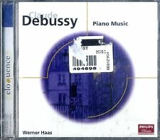 DEBUSSY Piano Music (Werner Haas) CD Philips NEW SIGILLATO