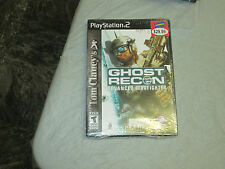 Tom Clancy's Ghost Recon: Advanced Warfighter (PlayStation 2, PS2) Brand New