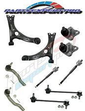 2003-2008 COROLLA CONTROL ARMS BALL JOINTS TIE RODS END AND SWAY BAR LINK KIT