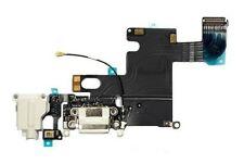 Iphone 6 Nuevo Blanco Completo Conector Dock Puerto De Carga Cable Circuito Plug parte